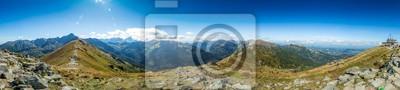 Plakat Panorama Góry polskie, tatry Zakopane