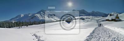 Plakat Panorama Hali Gasienicowej