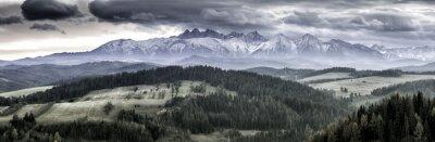 Plakat Panorama Tatry