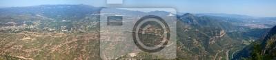 Plakat Panorama view of Pirenejach