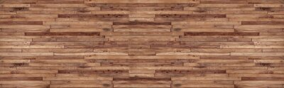 Plakat panorama wood wall texture , wooden background ,Beautiful Abstract , brick Texture Banner With Space For Text