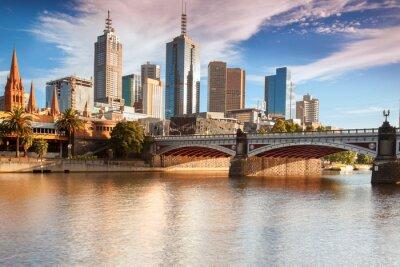 Plakat Panoramę z Southbank Melbourne