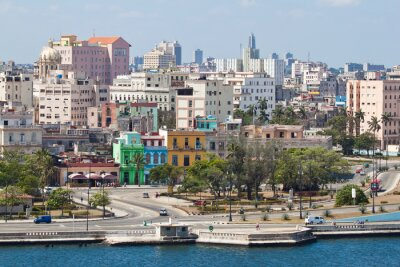Plakat Panoramiczny widok Old Havana