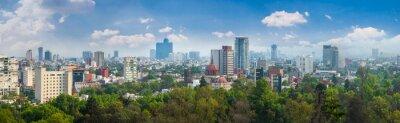 Plakat Panoramiczny widok z Meksyku.