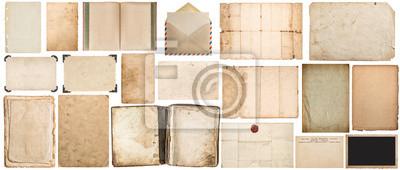 Plakat Papier tekstury książki koperty tektury ramki na zdjęcia