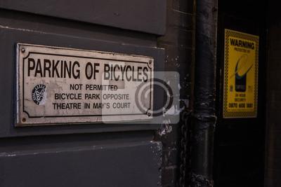 Plakat Parcheggio biciclette