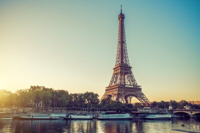 Plakat Paris Tour Eiffel Eiffla Eiffeltower