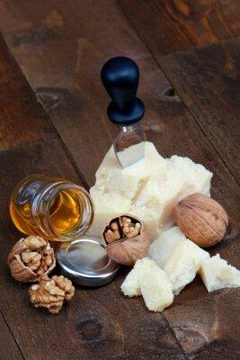 Plakat Parmigiano, noci e Miele