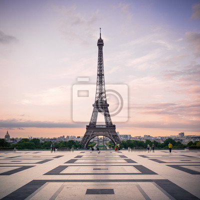 Plakat Paryż, Francja.