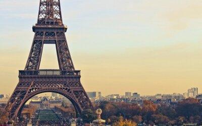 Plakat Paryż Francja Wieża Eiffla