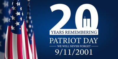 Plakat Patriot Day 2021