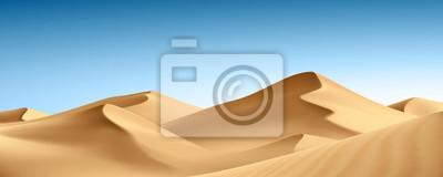 Plakat Paysage: desert vectoriel 1