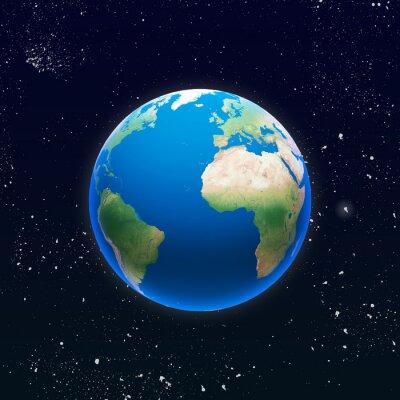 Plakat Pianeta terra