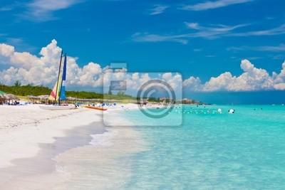 Plakat Piękne kubańskiej plaży Varadero