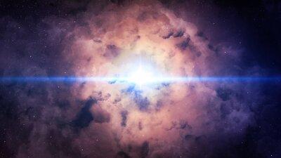 Plakat Piękne tła przestrzeni. Elementy tego zdjęcia dostarczone przez NASA