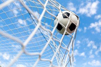 Plakat Piłka nożna, bramki, piłka nożna.