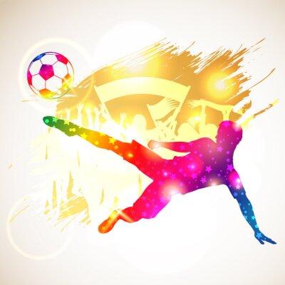 Plakat Piłkarz