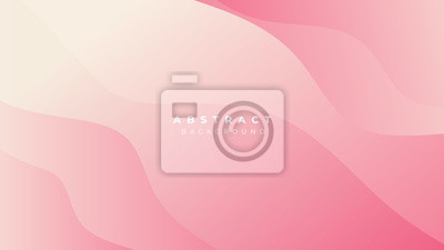 Plakat Pink Blue White Yellow Gradient Liquid Wave Abstract Background