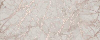 Plakat pink gold marble metallic luxury background
