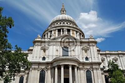 Plakat Pionowe Widok St Paul Cathedral