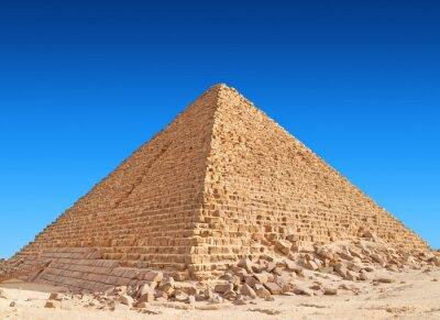 Plakat Piramida Cheopsa, Giza.