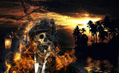 Plakat Pirat w Karaibów
