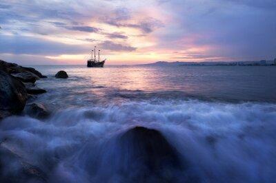 Plakat Pirate Ship Ocean Fantasy