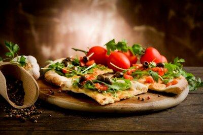 Plakat Pizza Vegetariana