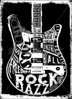 Plakat Plakat Hard Rock Music