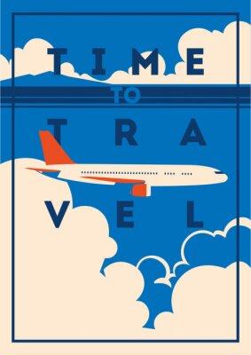 Plakat Plakat na czas podróży i wakacji.