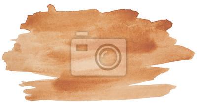 Plakat plama wodoodporna, brązowy do projektowania