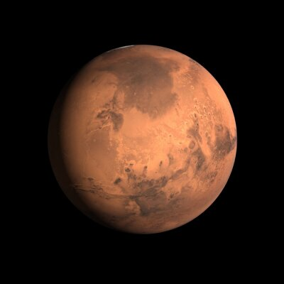 Plakat Planeta Mars