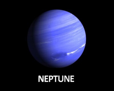 Plakat Planeta Neptun