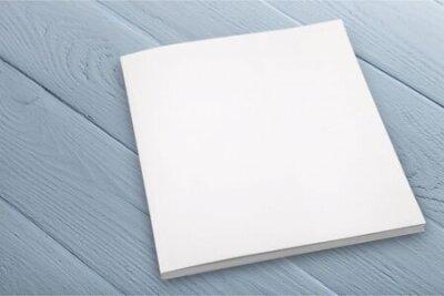 Plakat Plank  textbook isolated on background