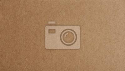 Plakat Płaski brown papieru tła zbliżenie