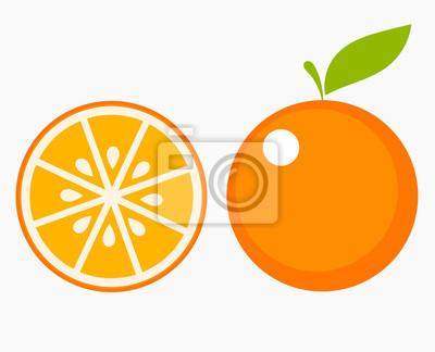 Plakat Plasterek pomarańczy