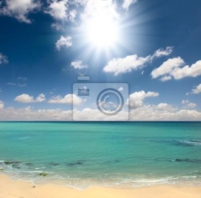 Plakat plaża, lato