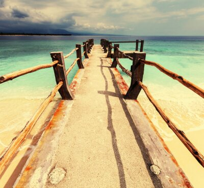Plakat Plaża na Gili