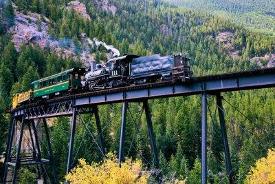 Plakat Pociąg w Georgetown, Kolorado