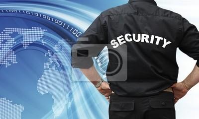 Plakat Pojęcie bezpieczeństwa Internetu