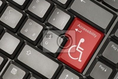 Plakat Pojęcie dostępności Internetu