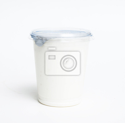 Plakat Pojemnik na produkty mleczne