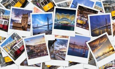 Plakat Polaroid, Lizbona, Portugalia
