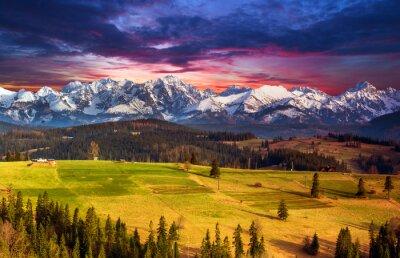 Plakat Polish mountains Tatry