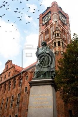 Plakat Pomnik astronoma Mikołaja Kopernika w Toruniu