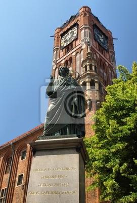 Plakat Pomnik Mikołaja Kopernika