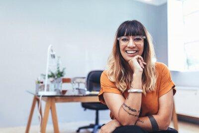 Plakat Portrait of a female entrepreneur