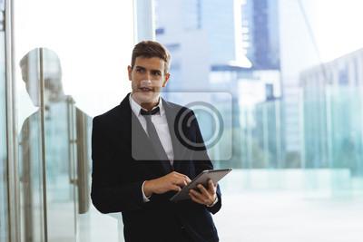 Plakat Portret biznesmen