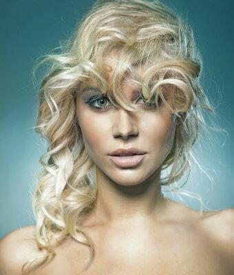 Plakat Portret cute blondie