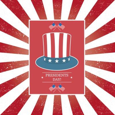 Plakat Presidents Day